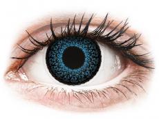 Kontaktní čočky Maxvue Vision - ColourVUE Eyelush Blue - dioptrické (2čočky)