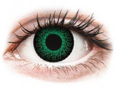 Kontaktní čočky Maxvue Vision - ColourVUE Eyelush Green - dioptrické (2čočky)