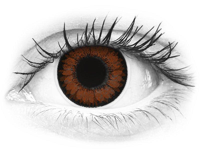 ColourVUE BigEyes Pretty Hazel - nedioptrické (2čočky) - ColourVUE BigEyes Pretty Hazel - nedioptrické (2čočky)