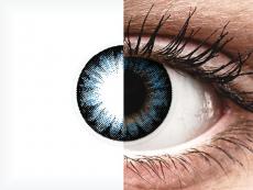 ColourVUE BigEyes Cool Blue - dioptrické (2čočky)