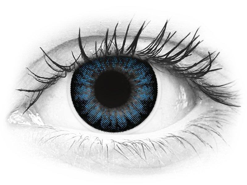 ColourVUE BigEyes Cool Blue - dioptrické (2čočky) - ColourVUE BigEyes Cool Blue - dioptrické (2čočky)