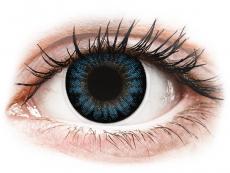 Barevné kontaktní čočky - nedioptrické - ColourVUE BigEyes Cool Blue - nedioptrické (2čočky)