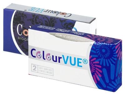 ColourVUE BigEyes Cool Blue - nedioptrické (2čočky)