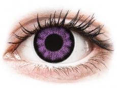 Kontaktní čočky Maxvue Vision - ColourVUE BigEyes Ultra Violet - nedioptrické (2čočky)