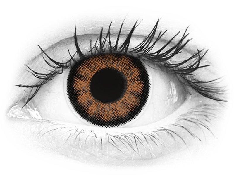 ColourVUE BigEyes Sexy Brown - nedioptrické (2čočky) - ColourVUE BigEyes Sexy Brown - nedioptrické (2čočky)