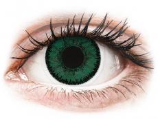 Zelené kontaktní čočky - nedioptrické - SofLens Natural Colors Amazon - nedioptrické (2čočky)