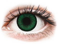 Zelené kontaktní čočky - nedioptrické - SofLens Natural Colors Aquamarine - nedioptrické (2čočky)