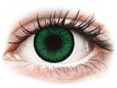 Zelené kontaktní čočky - dioptrické - SofLens Natural Colors Emerald - dioptrické (2čočky)