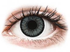 Šedé kontaktní čočky - nedioptrické - SofLens Natural Colors Platinum - nedioptrické (2čočky)