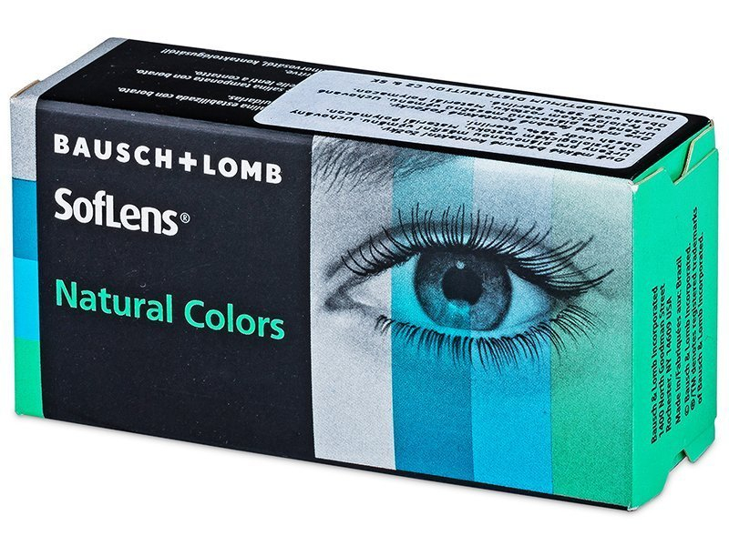 SofLens Natural Colors Platinum - dioptrické (2čočky)