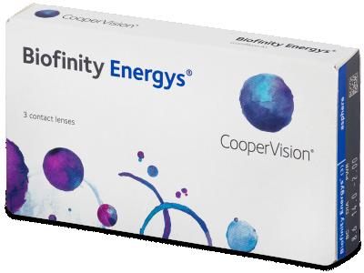 Biofinity Energys (3 čočky)