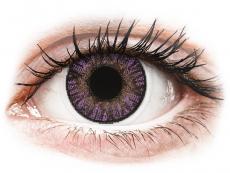 Barevné kontaktní čočky - FreshLook ColorBlends Amethyst - nedioptrické (2čočky)
