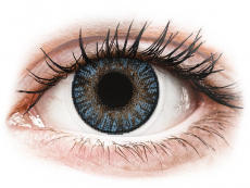 Barevné kontaktní čočky - FreshLook ColorBlends Blue - dioptrické (2čočky)