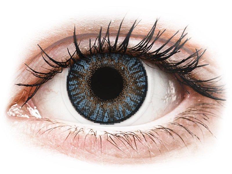 FreshLook ColorBlends Blue - dioptrické (2čočky) - Barevné kontaktní čočky