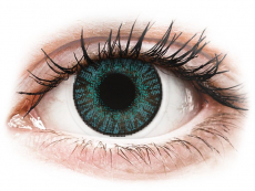 Barevné kontaktní čočky - FreshLook ColorBlends Brilliant Blue - dioptrické (2čočky)