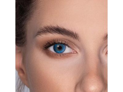 FreshLook ColorBlends Brilliant Blue - dioptrické (2čočky)
