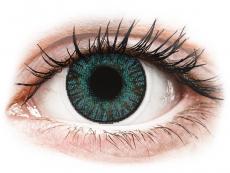 Barevné kontaktní čočky - FreshLook ColorBlends Brilliant Blue - nedioptrické (2čočky)
