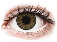 Hnědé kontaktní čočky - dioptrické - FreshLook ColorBlends Pure Hazel - dioptrické (2čočky)