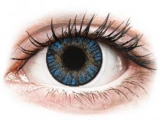 Kontaktní čočky Alcon - FreshLook ColorBlends True Sapphire - nedioptrické (2čočky)