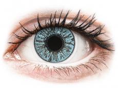 Barevné kontaktní čočky - dioptrické - FreshLook Colors Blue - dioptrické (2čočky)