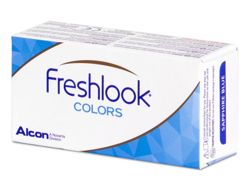 FreshLook Colors Blue - dioptrické (2čočky)