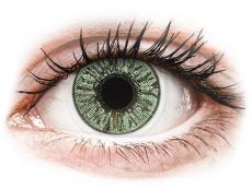 Barevné kontaktní čočky - dioptrické - FreshLook Colors Green - dioptrické (2čočky)