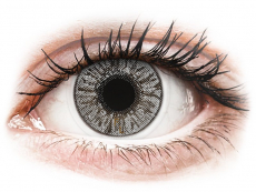 Barevné kontaktní čočky - FreshLook Colors Misty Gray - dioptrické (2čočky)