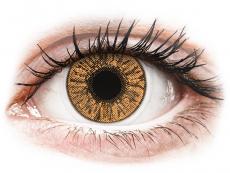 Hnědé kontaktní čočky - dioptrické - FreshLook Colors Hazel - dioptrické (2čočky)