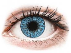 Barevné kontaktní čočky - dioptrické - FreshLook Colors Sapphire Blue - dioptrické (2čočky)