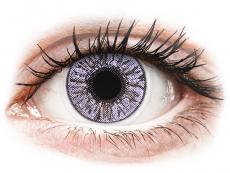 Fialové kontaktní čočky - nedioptrické - FreshLook Colors Violet - nedioptrické (2čočky)