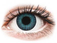 Barevné kontaktní čočky - dioptrické - Air Optix Colors - Brilliant Blue - dioptrické (2čočky)