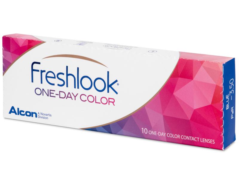FreshLook One Day Color Blue - dioptrické (10čoček)