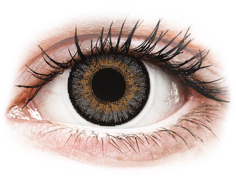 FreshLook One Day Color Grey - dioptrické (10čoček) - Barevné kontaktní čočky