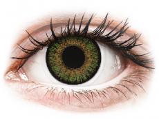 Zelené kontaktní čočky - nedioptrické - FreshLook One Day Color Green - nedioptrické (10čoček)