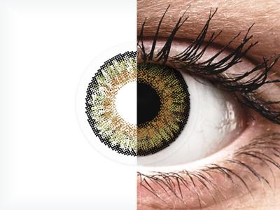 FreshLook One Day Color Pure Hazel - dioptrické (10čoček)