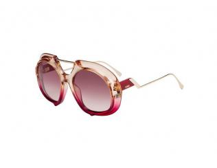 Oválné sluneční brýle - Fendi FF 0316/S C48/3X