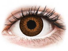 Hnědé kontaktní čočky - dioptrické - Expressions Colors Brown - dioptrické (1 čočka)