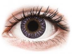 Fialové kontaktní čočky - nedioptrické - TopVue Color - Violet - nedioptrické (2čočky)