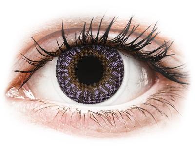 TopVue Color - Violet - dioptrické (2 čočky)
