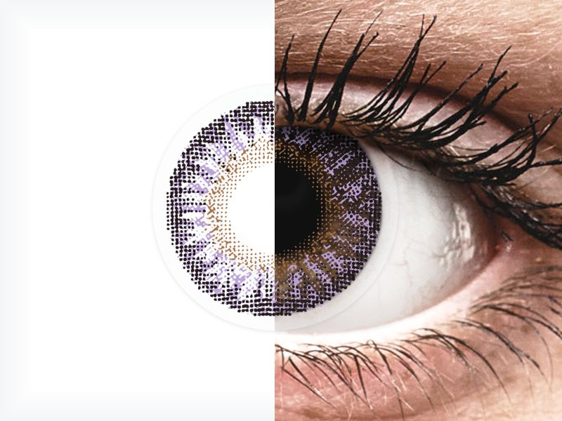 TopVue Color - Violet - nedioptrické (2čočky) - TopVue Color - Violet - nedioptrické (2čočky)