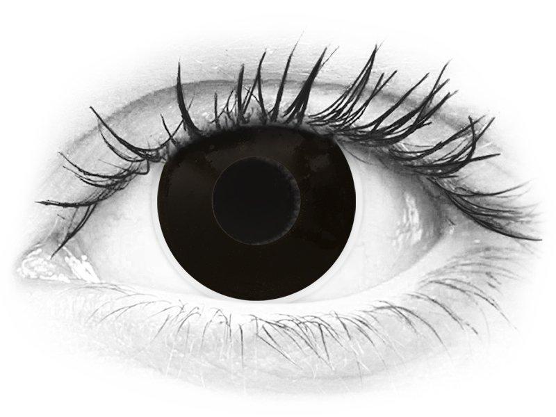 ColourVUE Crazy Lens - Blackout - nedioptrické jednodenní (2čočky) - ColourVUE Crazy Lens - Blackout - nedioptrické jednodenní (2čočky)