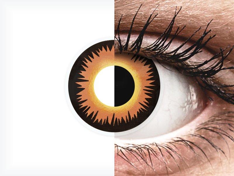 ColourVUE Crazy Lens - Orange Werewolf - nedioptrické jednodenní (2čočky) - ColourVUE Crazy Lens - Orange Werewolf - nedioptrické jednodenní (2čočky)