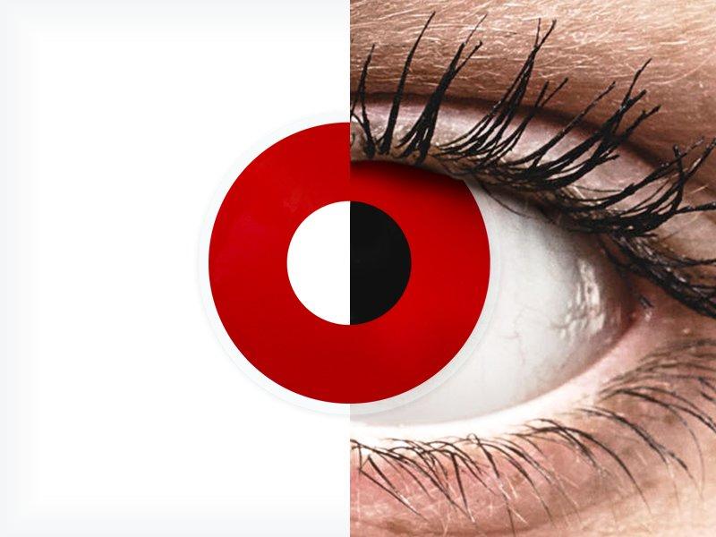ColourVUE Crazy Lens - Red Devil - nedioptrické jednodenní (2čočky) - ColourVUE Crazy Lens - Red Devil - nedioptrické jednodenní (2čočky)