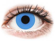 Kontaktní čočky Maxvue Vision - ColourVUE Crazy Lens - Sky Blue - nedioptrické jednodenní (2čočky)