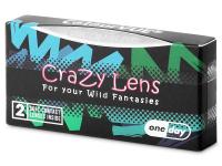 ColourVUE Crazy Lens - Sky Blue - nedioptrické jednodenní (2čočky)