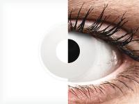 ColourVUE Crazy Lens - Whiteout - nedioptrické jednodenní (2čočky)