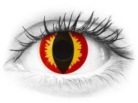 ColourVUE Crazy Lens - Dragon Eyes - nedioptrické jednodenní (2čočky)