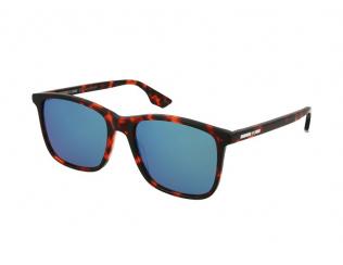Čtvercové sluneční brýle - Alexander McQueen MQ0080S 005