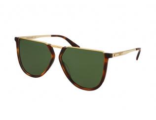 Čtvercové sluneční brýle - Alexander McQueen MQ0161S 002