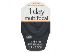 Proclear 1 Day multifocal (30čoček) - Vzhled blistru s čočkou